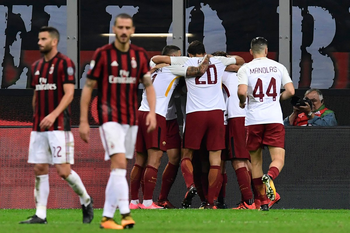 As roma vs ac milan betting tips online sport betting in nigeria now